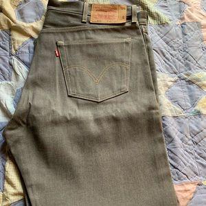 501 Gray jeans 42W 32L